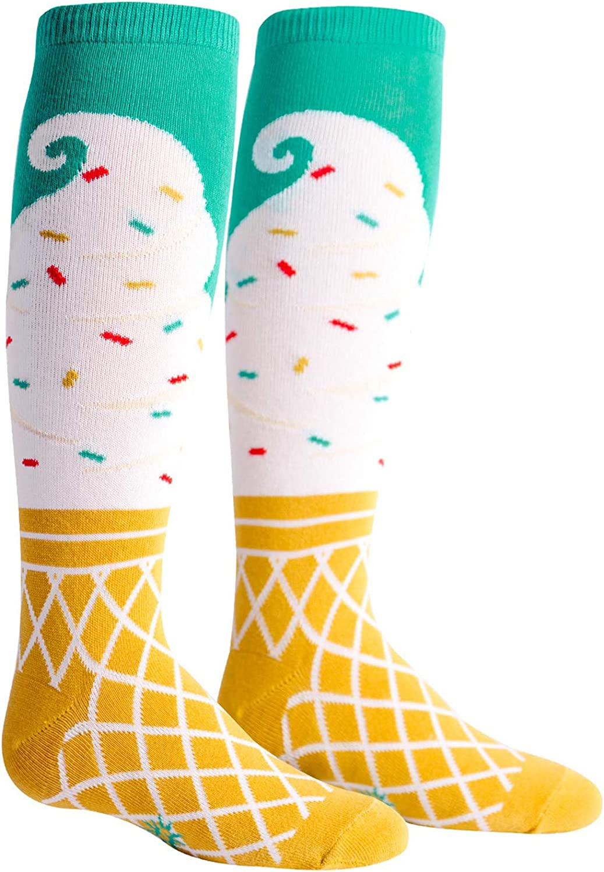 Sock It To Me Girls Ice Cream Dream Knee Socks