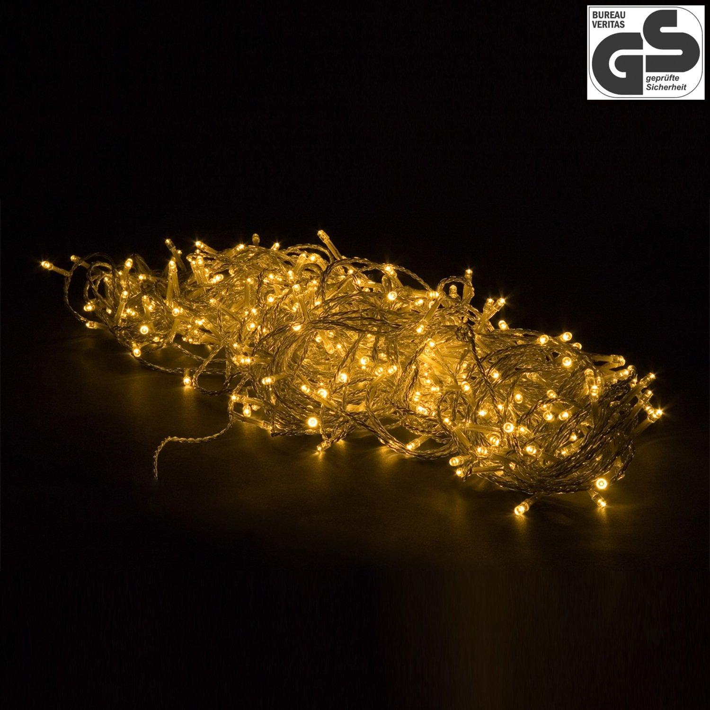 VOLTRONIC® 50 100 200 400 600 LED Lichterkette für innen und außen ...