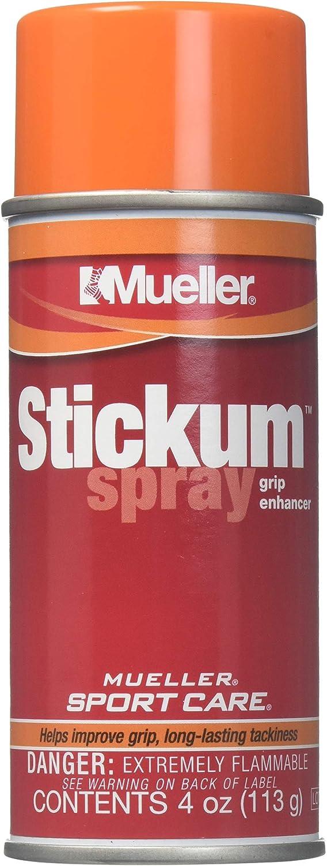 Mueller Stickum Spray Grip Enhancer, Aerosol, 4-Ounce
