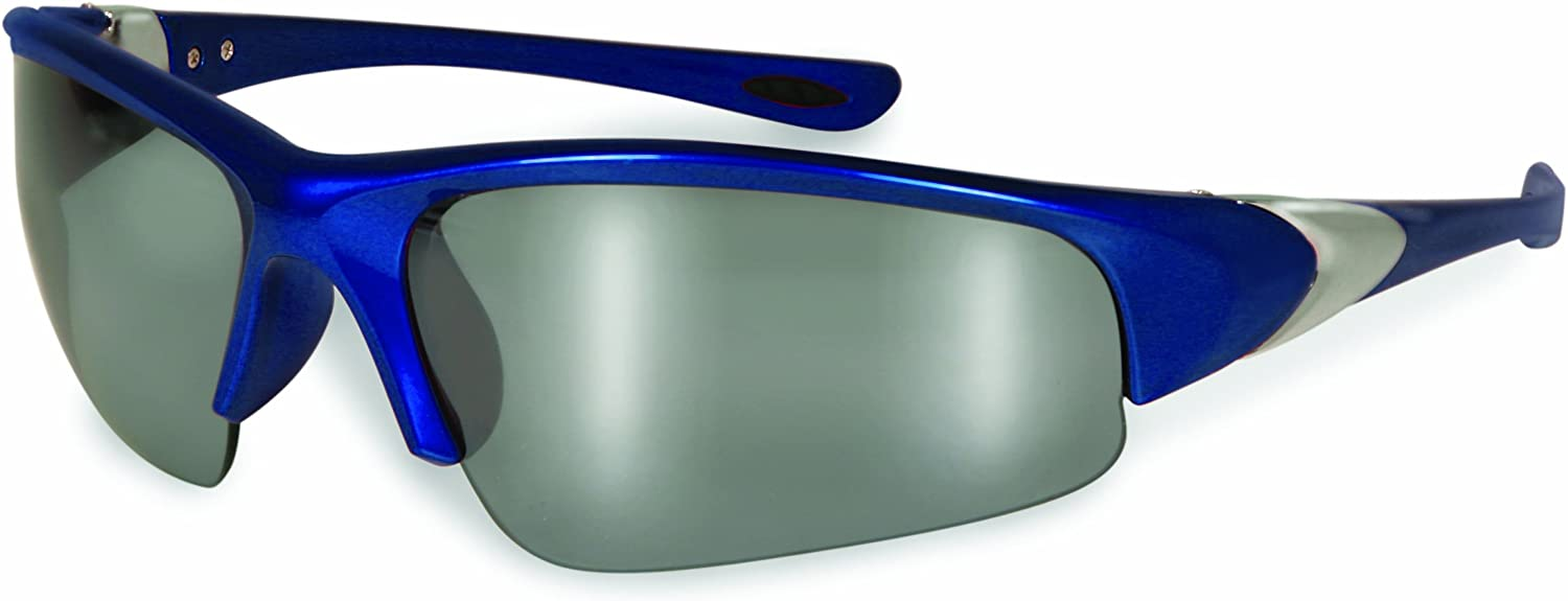 12-Pack SSP Eyewear 13191 Entiat CF M Unisex Safety Glasses with Mirrored Lenses Assorted Color Frames