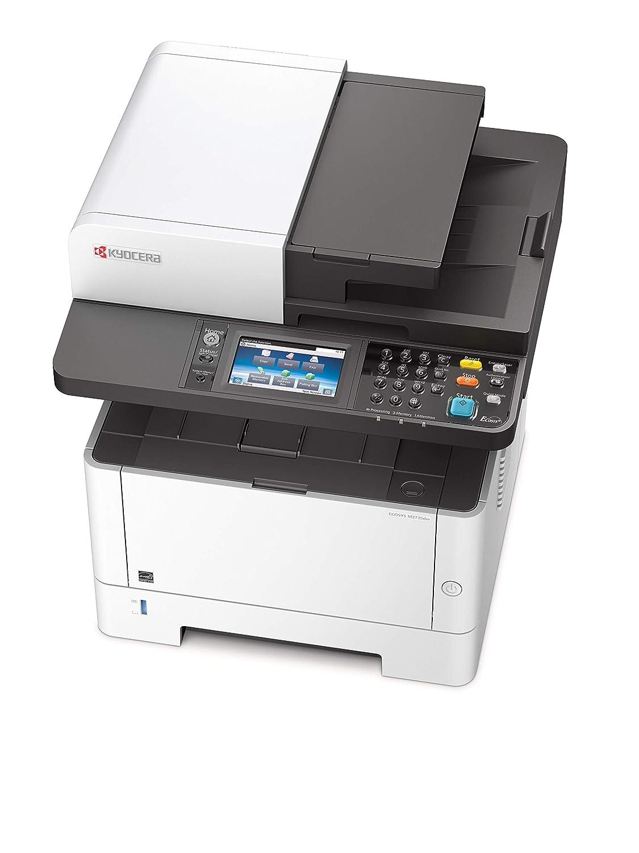 Kyocera M2735dw Ecosys - Impresora multifunción, Laser, Impresión en blanco y negro, 1200 x 1200 DPI, 35 ppm, WiFi, 250 hojas, A4, Negro/Blanco