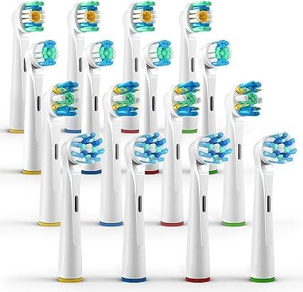 ORAX 16pcs Variedad Pack Oral B Cabezal de cepillo de dientes ...