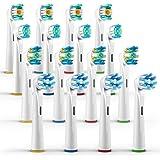 ORAX 16 Stück, Aufsteckbürsten Variety Pack für Oral-B elektrische Zahnbürsten, 4 Bürsten von jedem Typ (16)