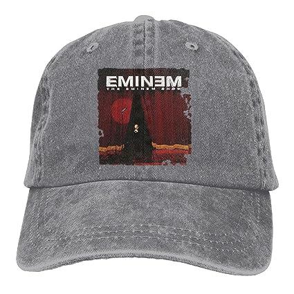 Ulongpoq Unisex Eminem The Eminem Show Cotton Baseball Cap Washed Dyed Ball Dad  Hat Adjustable Ash 7a9d3eb8a01