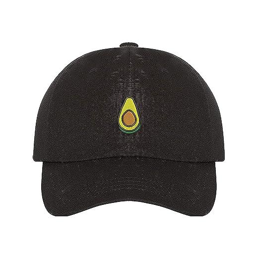 Prfcto Lifestyle Avocado Dad Hat- Black Baseball Cap- Unisex at Amazon  Women s Clothing store  7cc7f72061d5