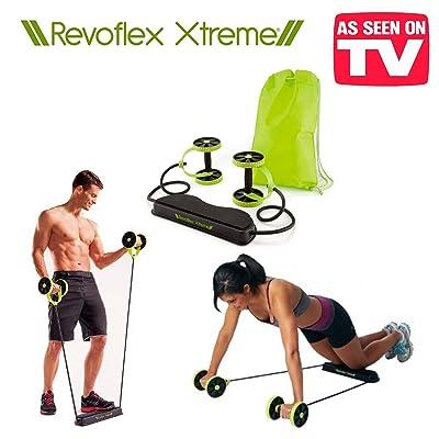 Le nouveau Revoflex Xtreme ! Outil multifonction avec 6 niveaux de résistance et 44 périodes différentes ! façonne vos abdominaux supérieurs inférieurs moyens et obliques mais aussi p