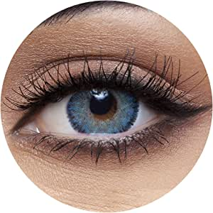 Anesthesia Anesthetic Blue Unisex Contact Lenses, Original Anesthesia Cosmetic Contact Lenses, 6 Months Disposable - Anesthetic Blue Color