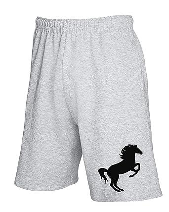 Speed Shirt WES0559 Big Rearing Horse - Pantalón Corto de chándal ...