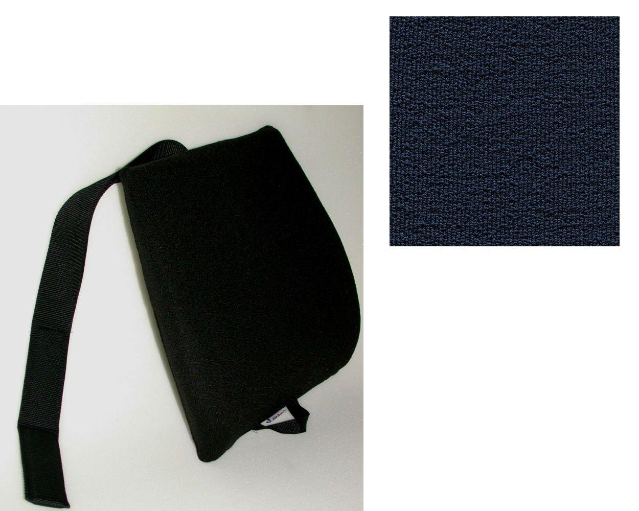 Mc Carty's Sacro-Ease Ergo Curve Cush Lumbar Support Cushion, Blue