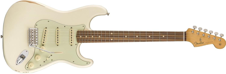 新しい Fender エレキギター ROAD エレキギター WORN® FERRO, '60s ROAD STRATOCASTER®, PAU FERRO, 3TS B074QV4KPB オリンピックホワイト オリンピックホワイト, 夢工舎の囲炉裏:444a2760 --- ecofriendlycarrybag.com