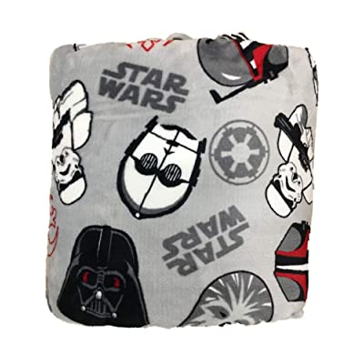 The Big One Supersoft Micro Plush Throw (Star Wars Character): Home & Kitchen