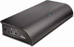 Kensington SD4000 Universal 4K USB Docking Station (K33983AM),Black