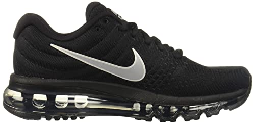 on sale 4fc21 9ecb7 Amazon.com   Nike Womens Air Max 2017 Running Shoes Black White Anthracite  849560-001 Size 10   Road Running