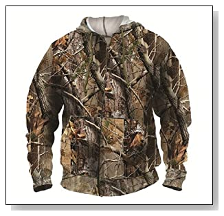 Realtree Hooded Sweat Jacket Unisex