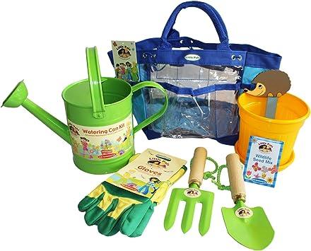 Set de jardinería para niños y kit de cultivo verde: Amazon.es ...