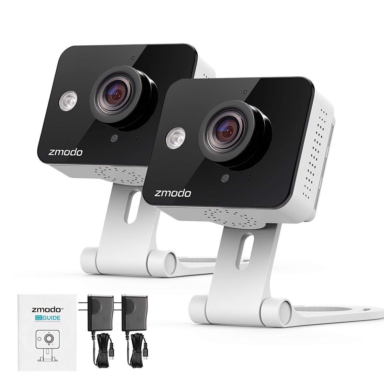 Zmodo Two-Way Audio Mini WiFi Home Security Camera (2 pack) by Zmodo (Image #7)