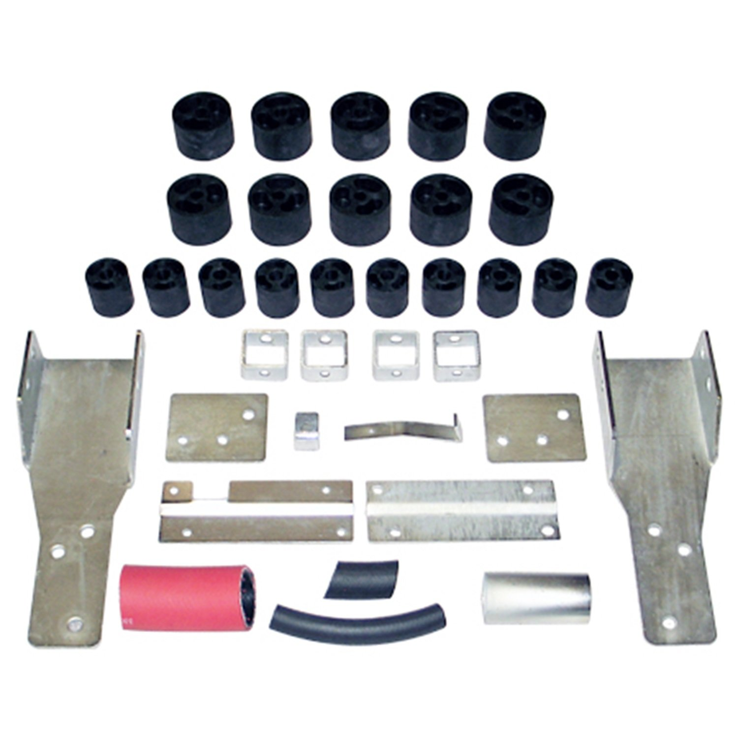 fits 1998 to 2003 Made in America Performance Accessories Chevy//GMC S-10//S15//Sonoma//ZR-2 2WD and 4WD STD//Ext Cab 2 Body Lift Kit PA192