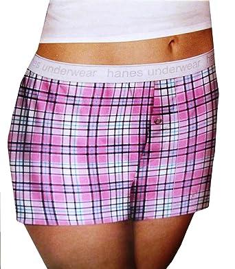 01582b9cd3be Hanes Women's Boyfriend Premium Cotton Boxer, 4 Pack, size 8 at ...