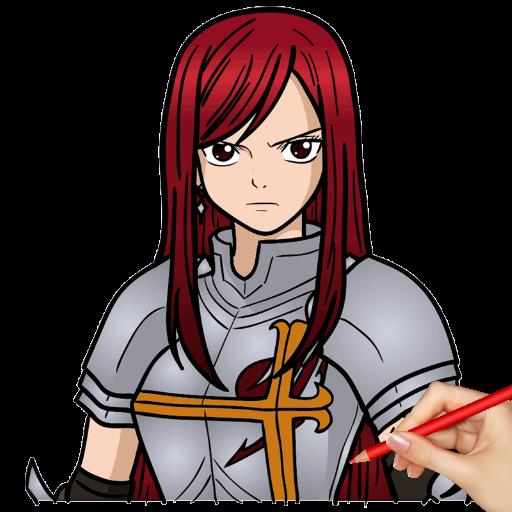 Anime Fairy Girl Drawing Easy Materi Pelajaran 5