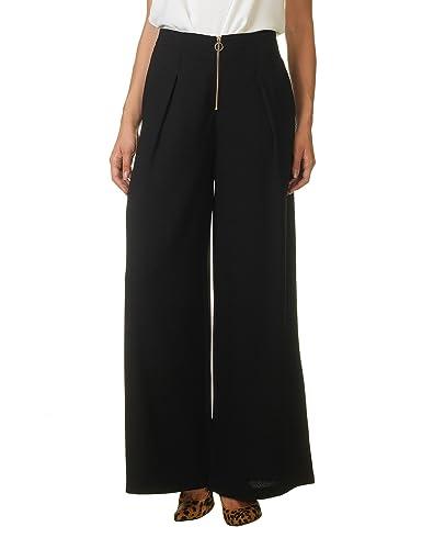 OEUVRE FASHION - Pantalón - para mujer negro negro L
