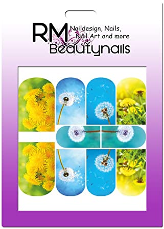 Rm Beautynails Nagelsticker Nailwrap Fullcover Sticker One Stroke