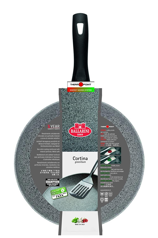 Ballarini Cortina Granitium Pan with 1 Handle, Grey, Diameter 20 cm 75000-349-0
