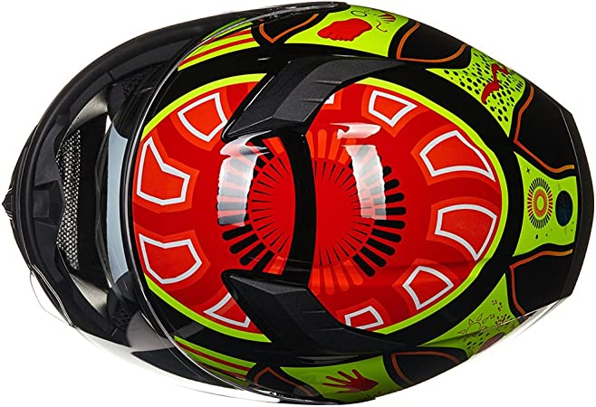 ILM 9 Colors Full Face Dual Visor Motorcycle Helmet DOT XL, COLORFULL 316-COLOR-XL