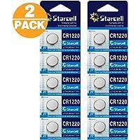 Act - Lot de 10 piles lithium CR1220