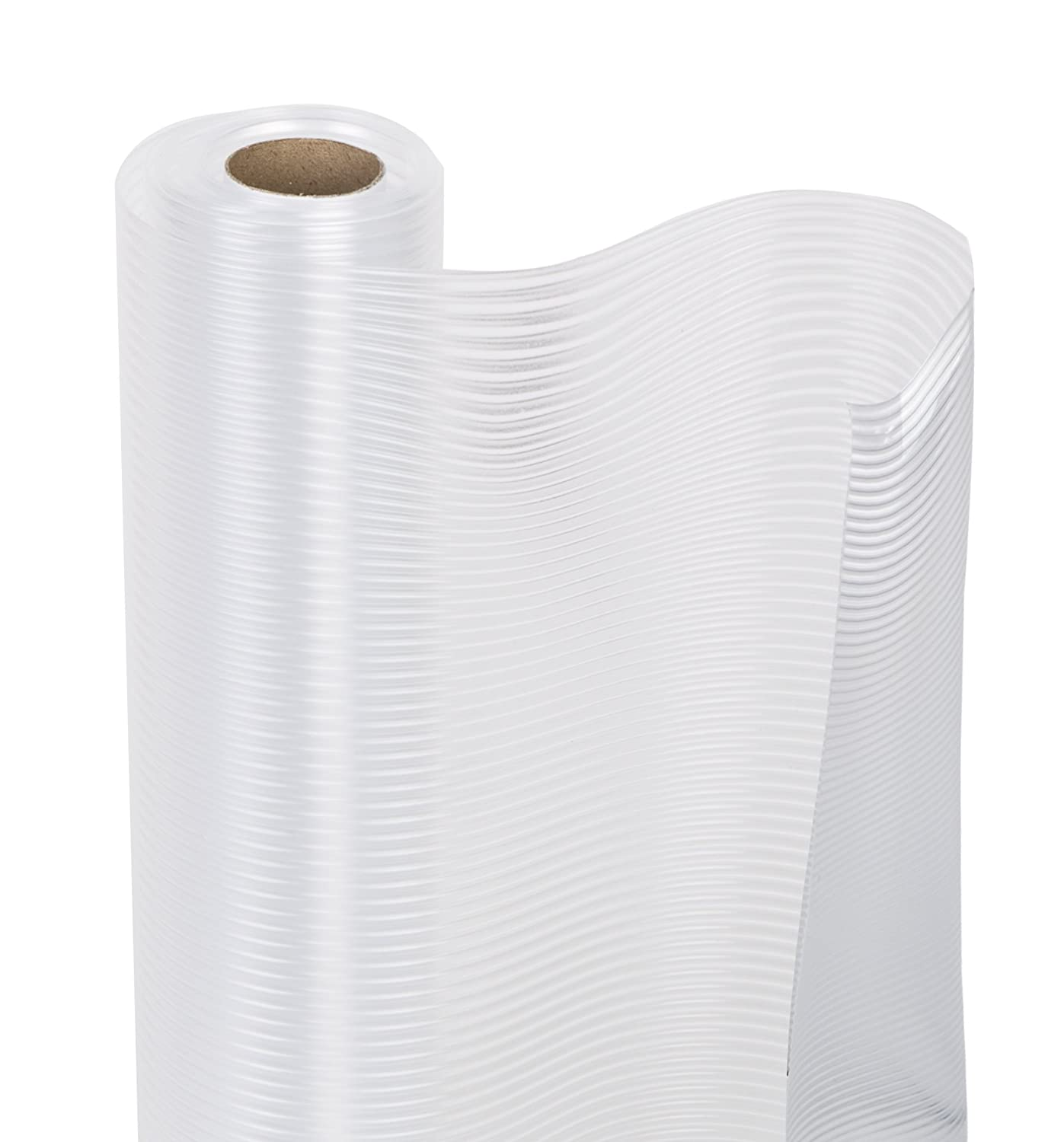 Pro-Mart 8811118 White Ribbed Shelf Liner, 12x 6' 12x 6' DAZZ