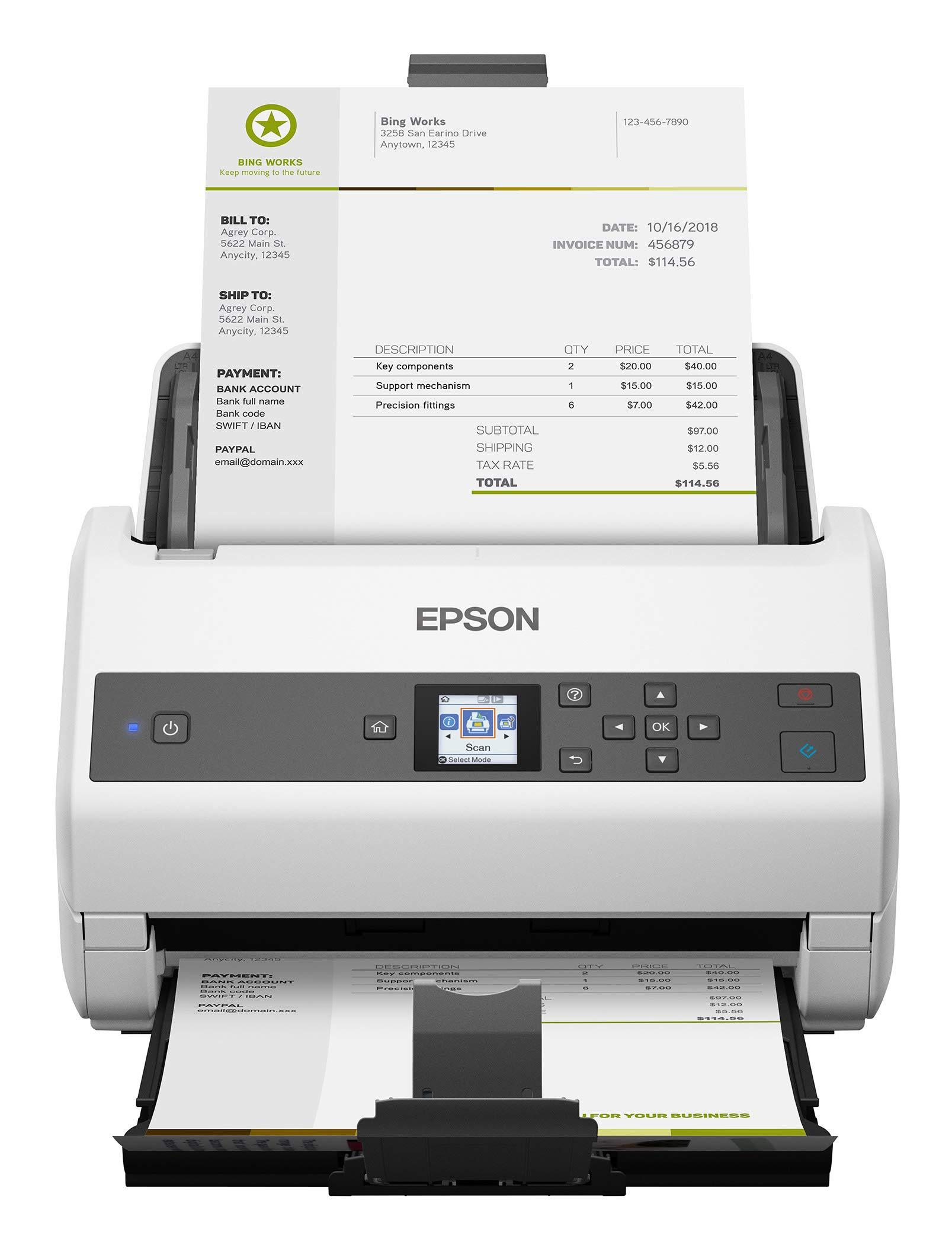 Epson America DS870 Document Scanner - B11B250201 by Epson