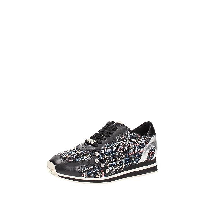 LIU JO woman sneakers low RUNNIN G CYRIL S65135 P0015 36 Nero:  Amazon.co.uk: Shoes & Bags