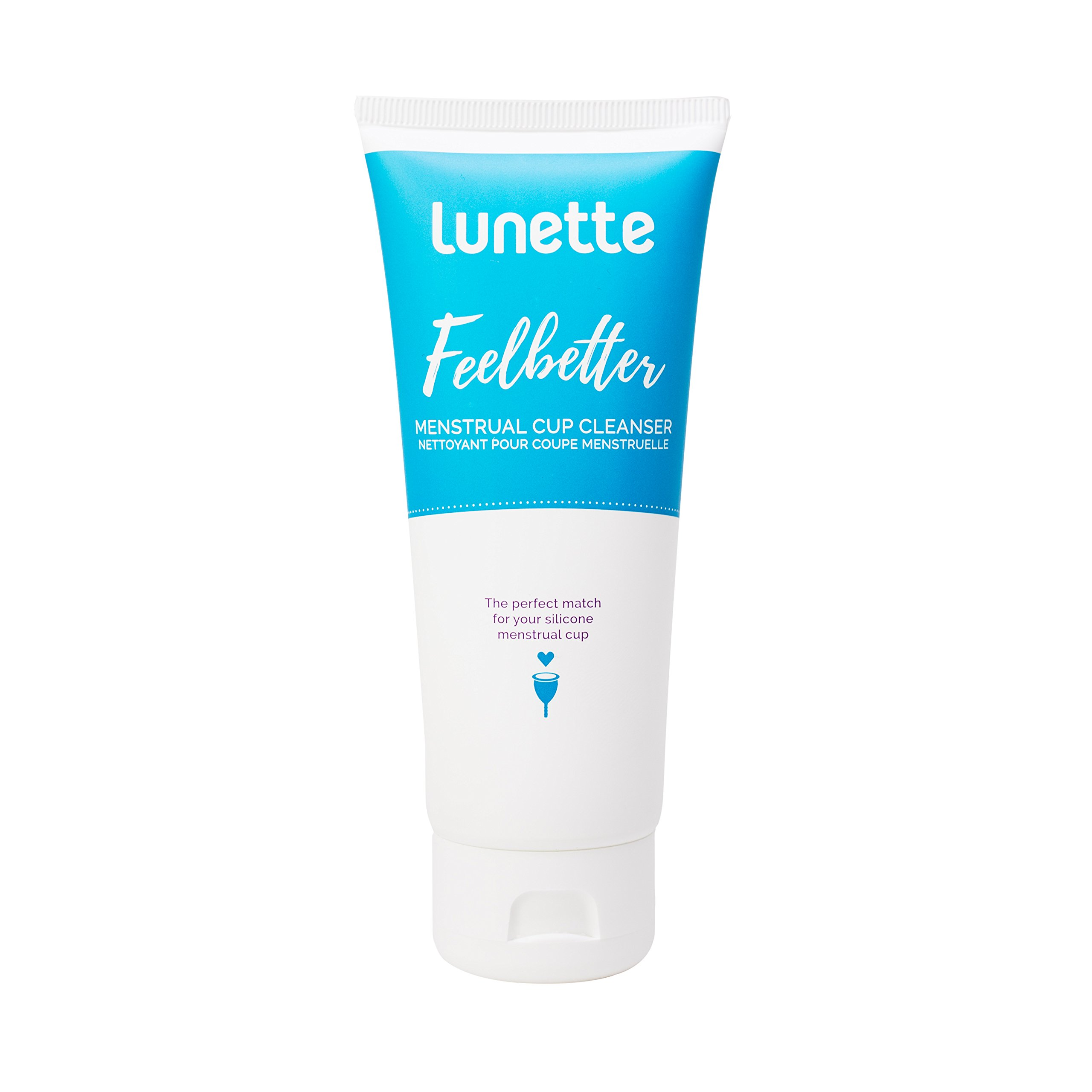 Lunette Feelbetter Menstrual Cup Cleanser 3.4 fl oz - Perfect Match for Your Silicone Menstrual Cup - Vegan, Natural, No Parabens
