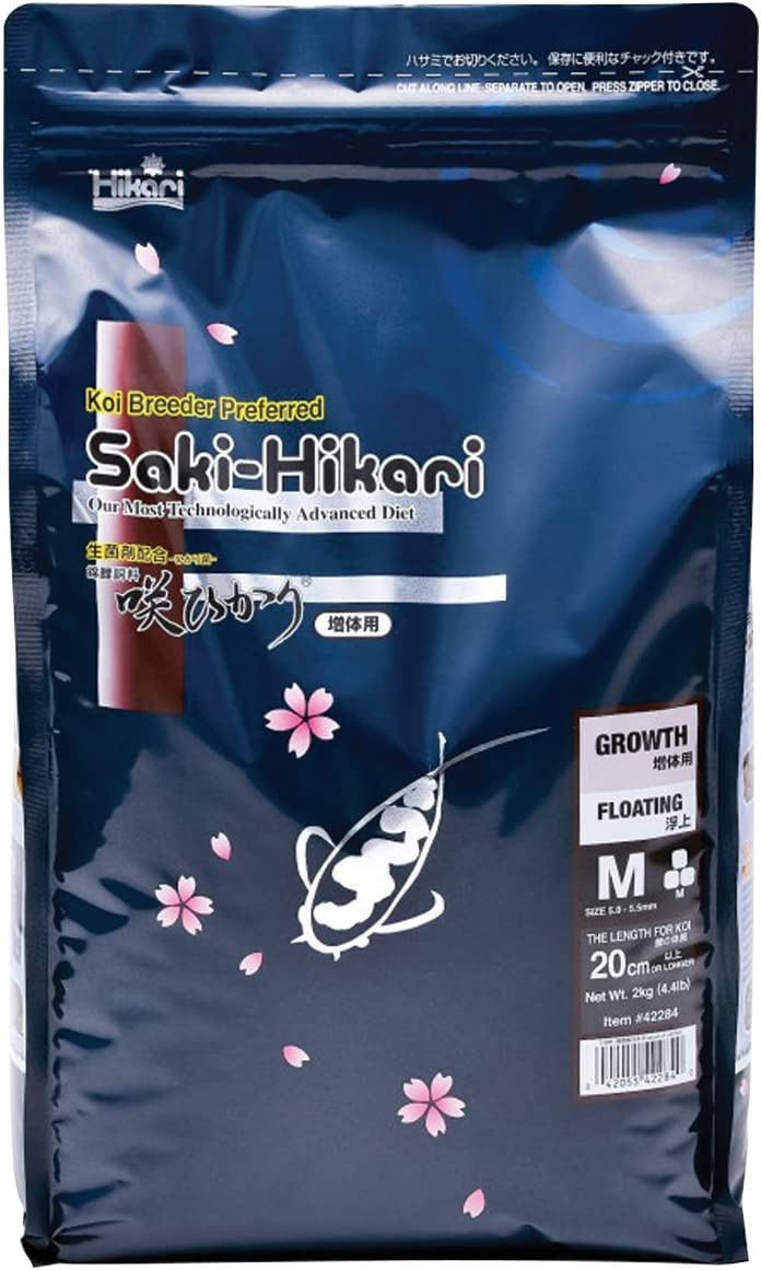Hikari 330349 Saki Growth Medium Pellets, 17.6 oz