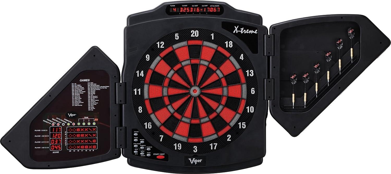 Amazon.com : Viper X-Treme Electronic Soft Tip Dartboard ...