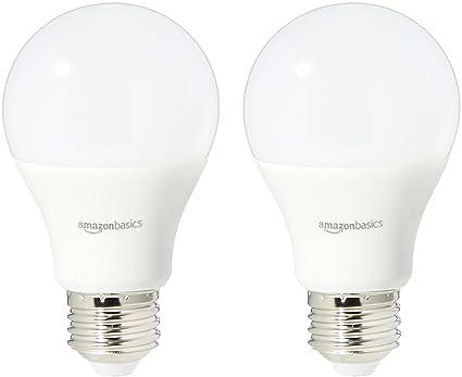 Amazoncom Amazonbasics 75 Watt Equivalent Soft White Dimmable