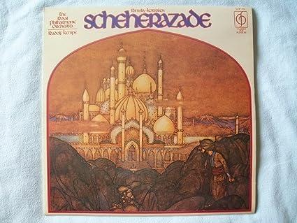Image result for Rimsky-Korsakov Scheherazade RPO Kempe LP