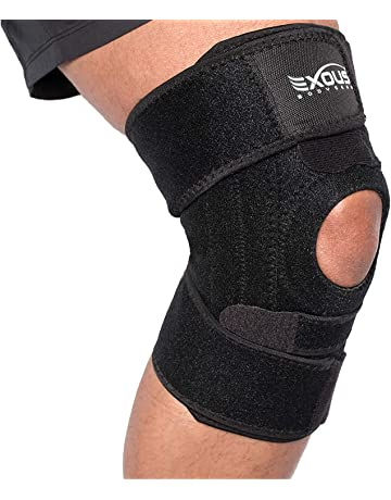 a0fbb1e71a EXOUS BODYGEAR Knee Support Brace With Lateral Stabilisers Anti-Slip Design  - Enhanced Comfort Helps