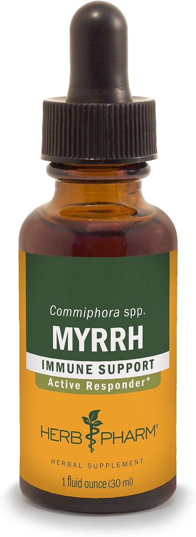 Herb Pharm Myrrh Liquid Extract for Immune System Support - 1 Ounce