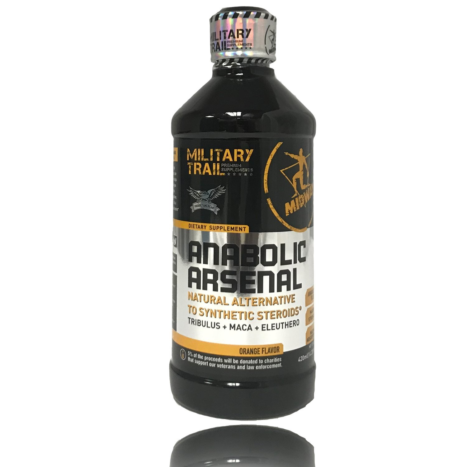 Amazon.com: Natural Testosterone Booster for Men by Midway Labs: Tribulus Terrestris, Maca Root ...
