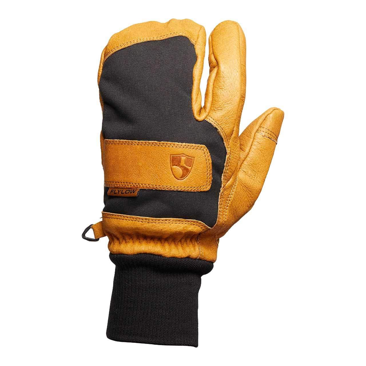 Flylow Leather Ski and Snowboarding Maine Line 3-Finger Gloves