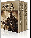 Saga Six Pack 8 - The Bondman, Book of Michael Sunlocks, Red Jason, The Waif Woman, Grettir the Outlaw, Greek and Northern Mythologies (Illustrated)