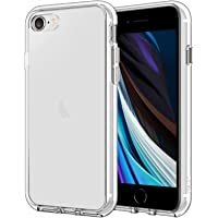 JETech Funda Compatible iPhone SE 2ª Generación, iPhone 8 iPhone 7, Anti- Choques y Anti- Arañazos (HD Clara)