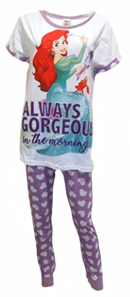 Disney The Little Mermaid Ariel Mujeres Pijamas S