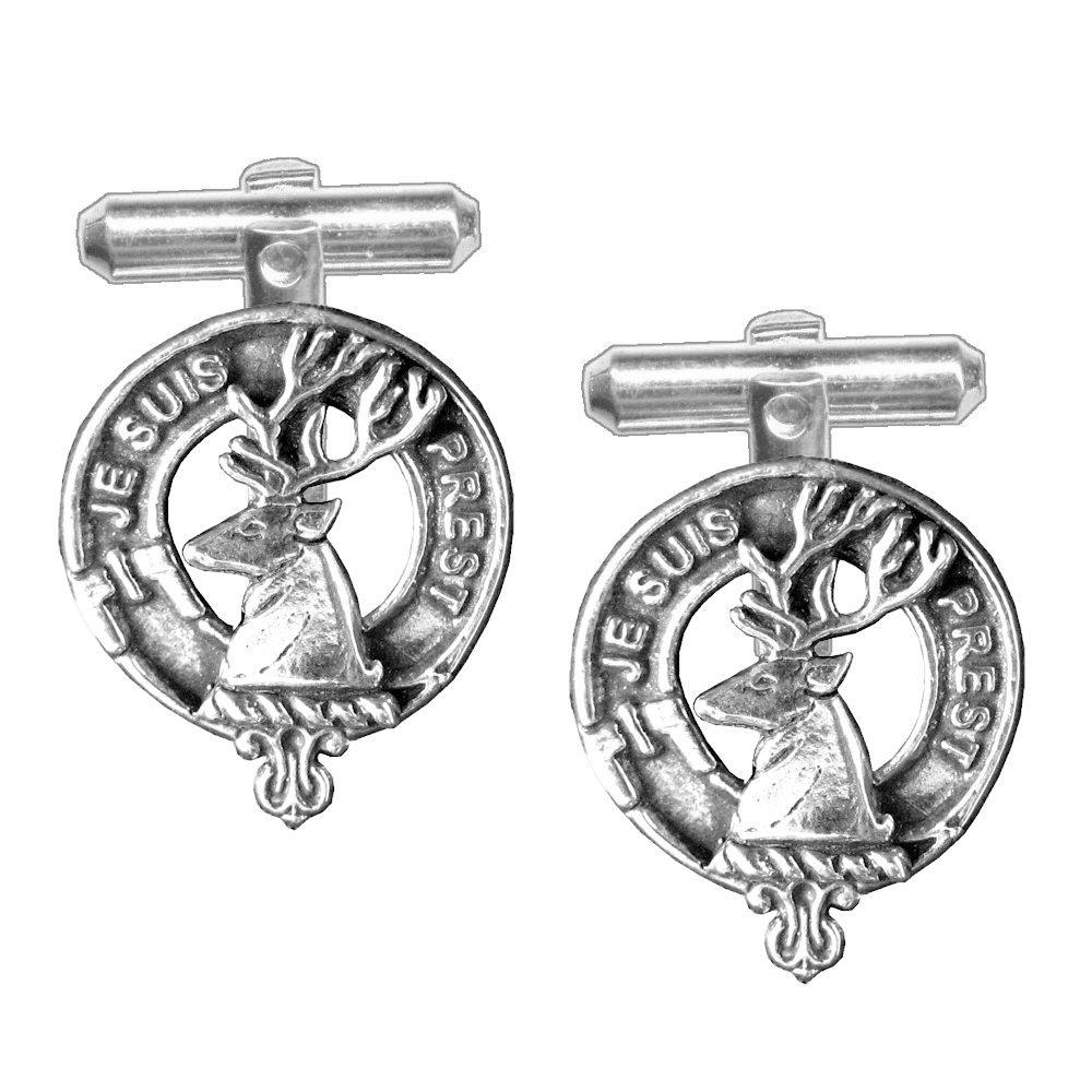 Fraser Scottish Clan Crest Cufflinks