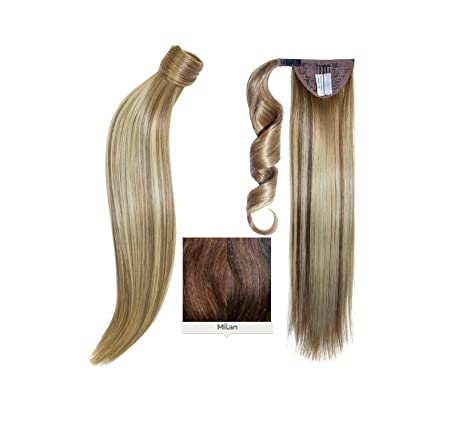 many fashionable official photos meet Balmain Catwalk Ponytail Memory Hair Milan 55 cm: Amazon.fr ...
