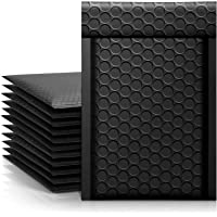 Metronic 4x8 Bubble Mailers, Black Color Shipping Bags, Self-Seal Packaging Bags, Padded Envelopes, Packaging for Small…
