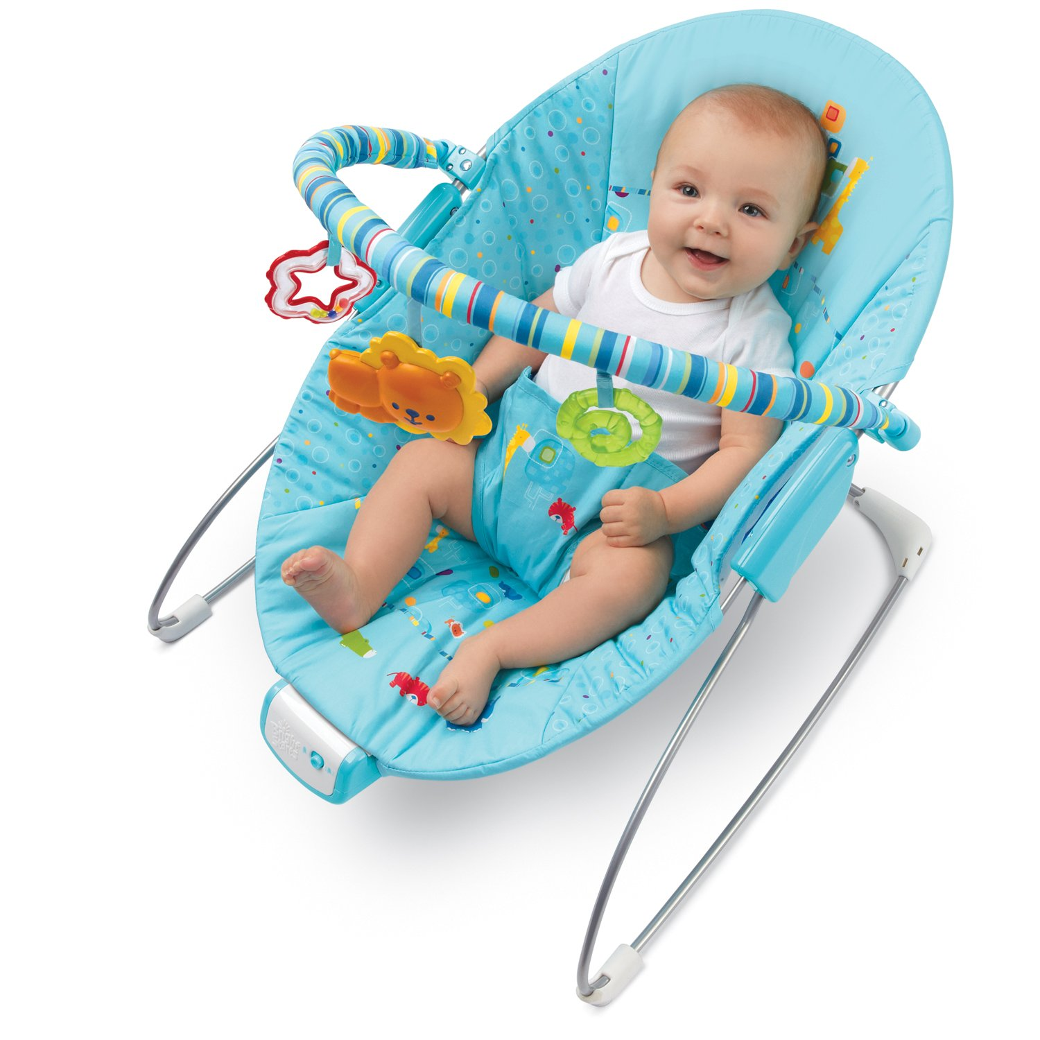 Amazon Bright Starts Fun on Safari Cradling Bouncer
