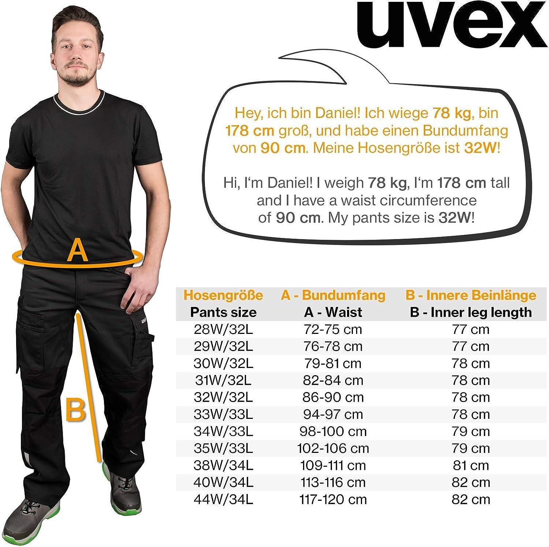 Uomo Uvex Synexxo Pantaloni Cargo di Sicurezza