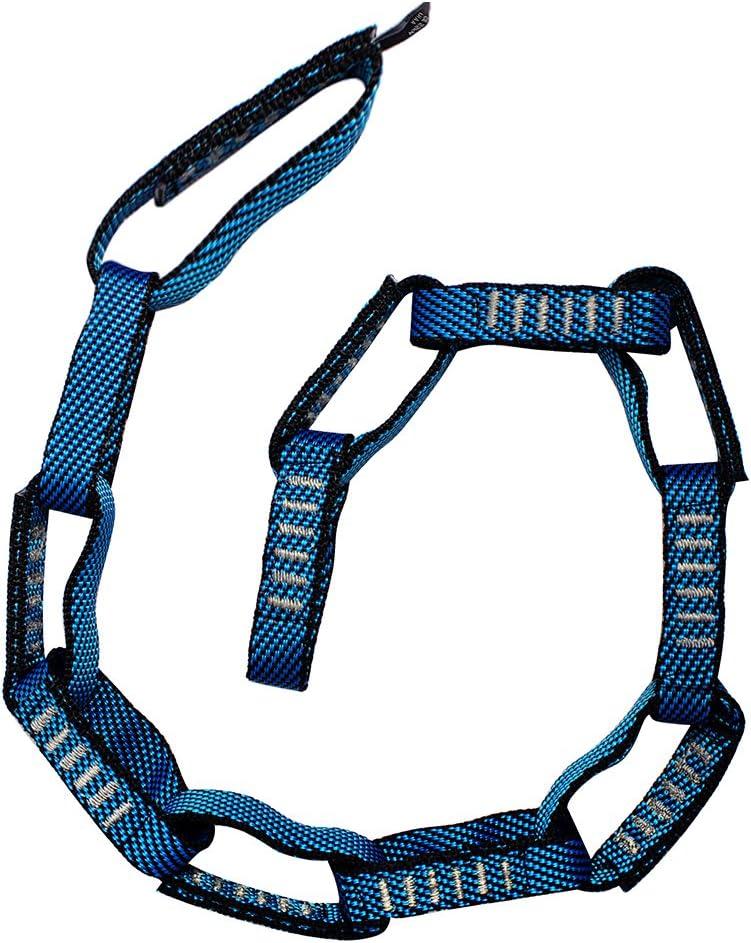 Fusion Climb 12 Bucle Loop Individual Daisy Chain 5000 LB Prueba Cosida Nylon Webbing 45