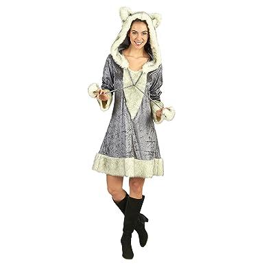 Vestido de Traje Animal Traje de la Piel de Zorro de Las ...